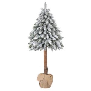 Sztuczna choinka Świerk Na Pniu Ze Śniegiem FairyTrees