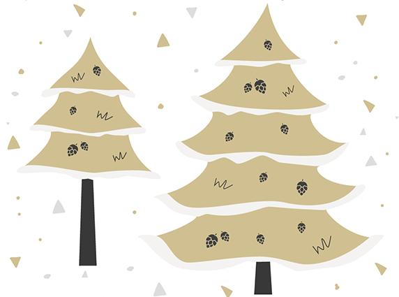 W jaki sposób są dekorowane sztuczne choinki?