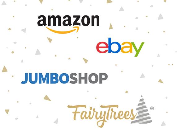 Gdzie mogę kupić ozdoby i sztuczne choinki FairyTrees?