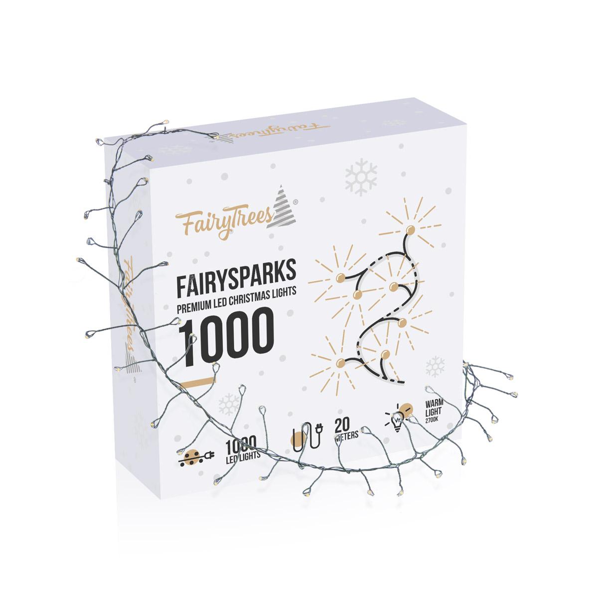 Lampki choinkowe LED FairySparks 1000