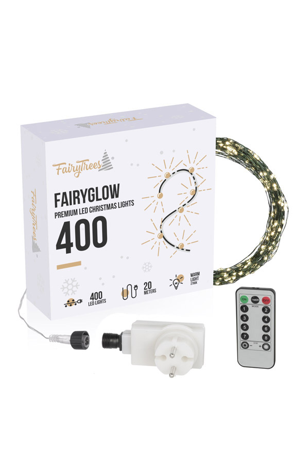 Lampki choinkowe LED FAIRYSPARKS 400
